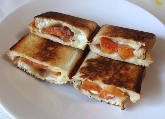 クリーム サンド 柿 チーズ
